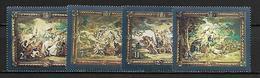 MALTE    -   1978 .   Y&T N° 573 à 576 **.   Rubens.    Série Complète - Malta