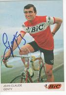 JEAN CLAUDE  GENTY  SIGNEE  BIC - Radsport