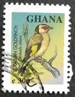 Ghana 2000 Bird Used  BLOCK OF FOUR - Ghana (1957-...)