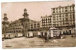 Blankenberge, Blankenberghe, La Digue Et La Plage (pk52353) - Blankenberge