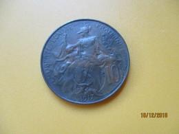 FRANCE 10 Centime 1917 SUP - D. 10 Centimes