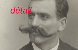 Grand CDV-(CAB) Homme à La Moustache Impressionnante-photo Compagnie Américaine à Lyon - Photographs