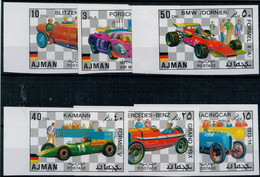 AJMAN   1971     CARS   IMPERFORATO       MNH** - Ajman
