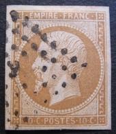 R1606/18 - NAPOLEON III N°13A - LUXE - LOSANGE BUREAU De PARIS - 1853-1860 Napoléon III