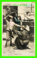 ENFANTS - INSTRUCTION LAÏQUE - A. N. PARIS - CIRCULÉE EN 1903 - - Groupes D'enfants & Familles