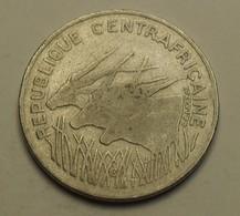 1982 - Centrafrique République - Central African Republic - 100 FRANCS - KM 7 - Monnaies