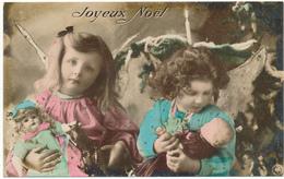 ENFANTS - Petites Filles, Poupées, Joyeux Noël - Scènes & Paysages