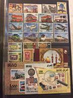 Iraq 2017 MNH Stamp Full Year Set Baghdad, Trains, Busses, Planes - Irak