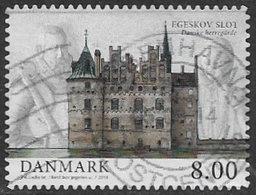 Denmark 2013 Castles 8k Type 2 Good/fine Used [39/31730/ND] - Denmark