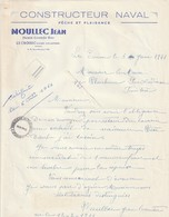 Le Croisic---loire Atlantique---44---constructeur Naval---moullec Jean - Vieux Papiers