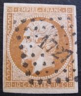 R1606/19 - NAPOLEON III N°13Ab - LUXE - PC 1727 : LILLE (Nord) - Cote : 30,00 € - 1853-1860 Napoléon III