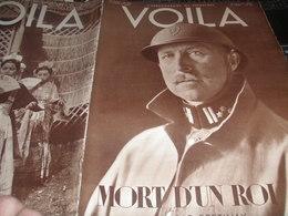 VOILA 34/ROI BELGE/TITAYNA CHAIRS D OR/BERLIN TEMPELHOF/AMOURS TRANSIT PAUL BRINGUIER - Livres, BD, Revues