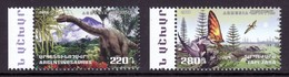 Armenien/Armenie/Armenia 2018,  Fauna Of The Ancient World, Dinosaurs, Tapejara Argentinosaurus - MNH - Stamps
