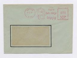 DDR Cover AFS - LEIPZIG, Zeichen Meßgeräte Gebr. Götze 1963 - DDR