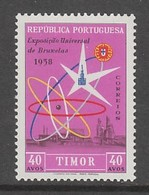 TIMBRE NEUF DU TIMOR - EXPOSITION DE BRUXELLES N° Y&T 297 - 1958 – Bruxelles (Belgique)