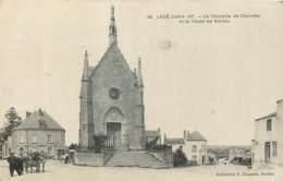 44 - LEGE - Chapelle De Charette Et Route De Nantes 1919 - Legé