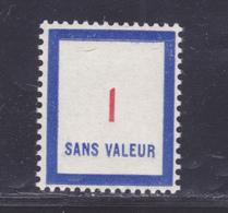 FRANCE FICTIF N° F100 ** MNH Neuf Sans Charnière, TB - Phantomausgaben