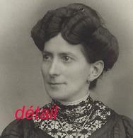 Grand CDV-(CAB) Portrait De Femme-photo Compagnie Américaine à Lyon - Anciennes (Av. 1900)