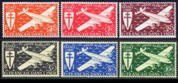 Inde PA 1942 Yvert 1 / 6 ** TB Bord De Feuille - India (1892-1954)