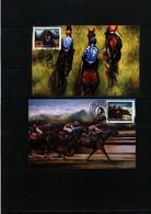 Yugoslavia / Jugoslawien / Yougoslavie 1996 Horse Races Maximumcards - Reitsport