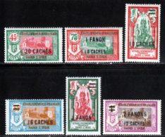 Inde 1927 Yvert 79 / 84 * TB Charniere(s) - Nuevos