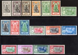 Inde 1929 Yvert 85 / 99 - 101 - 104 ** TB - India (1892-1954)