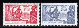 Inde 1939 Yvert 116 / 117 * TB Charniere(s) - Nuevos