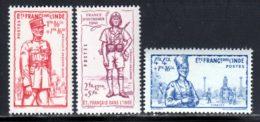 Inde 1941 Yvert 123 / 125 * TB Charniere(s) - Nuevos