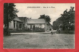 ENGLEBELMER - Rue De La Place - 1923 - - Andere Gemeenten