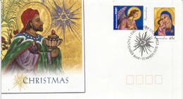 Noël Australien    FDC AUSTRALIA Année 2005 , Oblitération  Spéciale  ST MARYS. NSW - Christmas