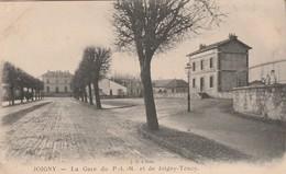 CPA  89 JOIGNY TOUCY LA GARE DU PLM - Joigny