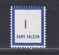 FRANCE FICTIF N° F118 ** MNH Neuf Sans Charnière, TB - Phantomausgaben
