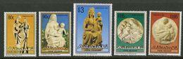AITUTAKI 1993 - Noël 93, Art Vierge Et L'enfant Sculptures - 5 Val Neufs // Mnh // CV €15 - Aitutaki