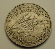1960 - Cameroun - Cameroon - République - 50 FRANCS, Le 1er JANVIER 1960, Commémorative Indépendance - KM 13 - Cameroun