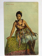 C.P.A. : SAMOA : Samoan Woman, Seins Nus, Nude, Superbe - Samoa