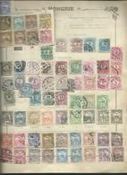 HONGRIE. Ancienne Collection Sur 11 Pages D'album. - Timbres