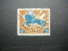 Lietuva Lithuania Litauen Lituanie Litouwen # 1921 Used # Mi. 97 - Lithuania