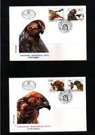 Yugoslavia / Jugoslawien / Yougoslavie 1993 Birds Of Prey FDC - Adler & Greifvögel