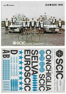 CARTE CYCLISME GROUPE TEAM SCIC 1976 FORMAT 19,5 X 27,5 - Radsport