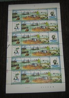 Belgie  2273/2276** Houd De Zee Schoon (Beelddoorloper)- La Mer Feuille Complêt Avec Date Etc... PL 1 - Full Sheets