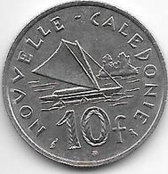 *new Caledonia 10 Francs 1967  Km 5  Unc - Nouvelle-Calédonie