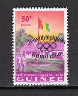 GUINEE N° 39  NEUF SANS CHARNIERE COTE 10.00€  JEUX OLYMPIQUES  ROME - Guinée (1958-...)