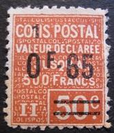 R1606/27 - 1926 - COLIS POSTAUX - N°57 NEUF* - Parcel Post