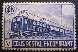 R1606/28 - 1941 - COLIS POSTAUX - N°182 NEUF* - Cote : 12,00 € - Paketmarken