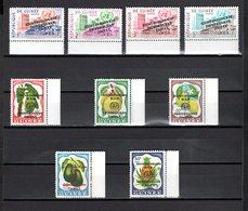GUINEE N° 43 à 51  VARIETE SURCHARGE RENVERSEE  NEUFS SANS CHARNIERE COTE ? €  NATIONS UNIES - Guinée (1958-...)