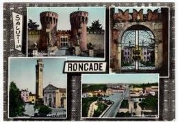 SALUTI DA RONCADE - TREVISO - 1964 - VEDUTE - Treviso