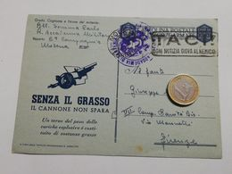2875) FRANCHIGIA POSTA MILITARE Senza Grasso Modena Accademia 22-4-194 X Firenze - 1900-44 Vittorio Emanuele III
