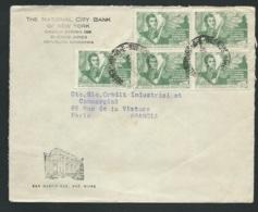 Argentine - Lsc Pour Paris  , Yvert   N° 491 X 5 En 1948    - Lx1306 - Argentina