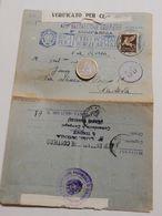 2881) FRANCHIGIA POSTA MILITARE 61 Aerea 31-3-1943 Battaglione Costiero - Storia Postale