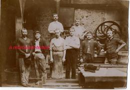 Photo Ancienne-ouvriers-métier à Déterminer Format 16,5 X 11,6cm Papier Fin - Métiers